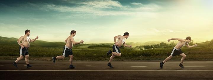 دویدن و ورزش هوازی برای کاهش وزن